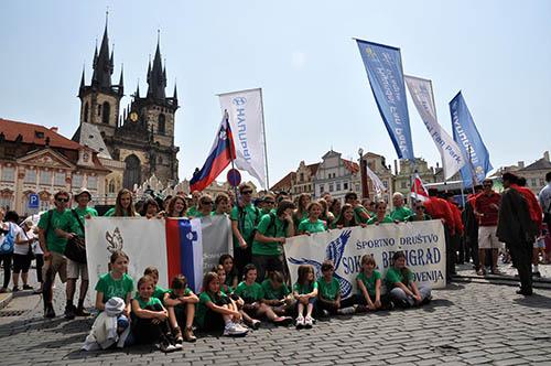 Gremo v Prago!